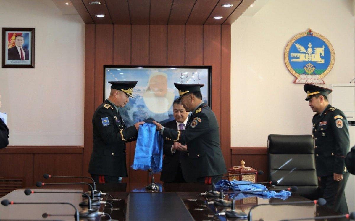 Зэвсэгт хүчний Жанжин штабын даргаар томилогдсон Д.Ганзориг ажлаа хүлээж авлаа