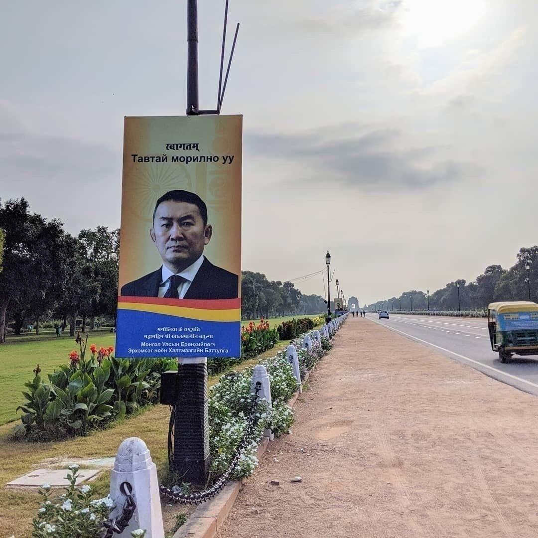Ерөнхийлөгч  Энэтхэг улсад Төрийн айлчлал хийхээр мордлоо