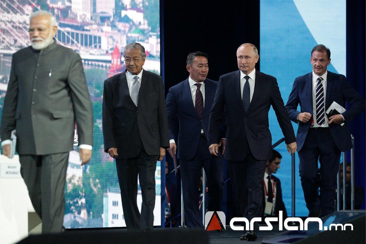 ФОТО: Владивосток хотноо болж буй Дорнын эдийн засгийн чуулганы эргэн тойронд