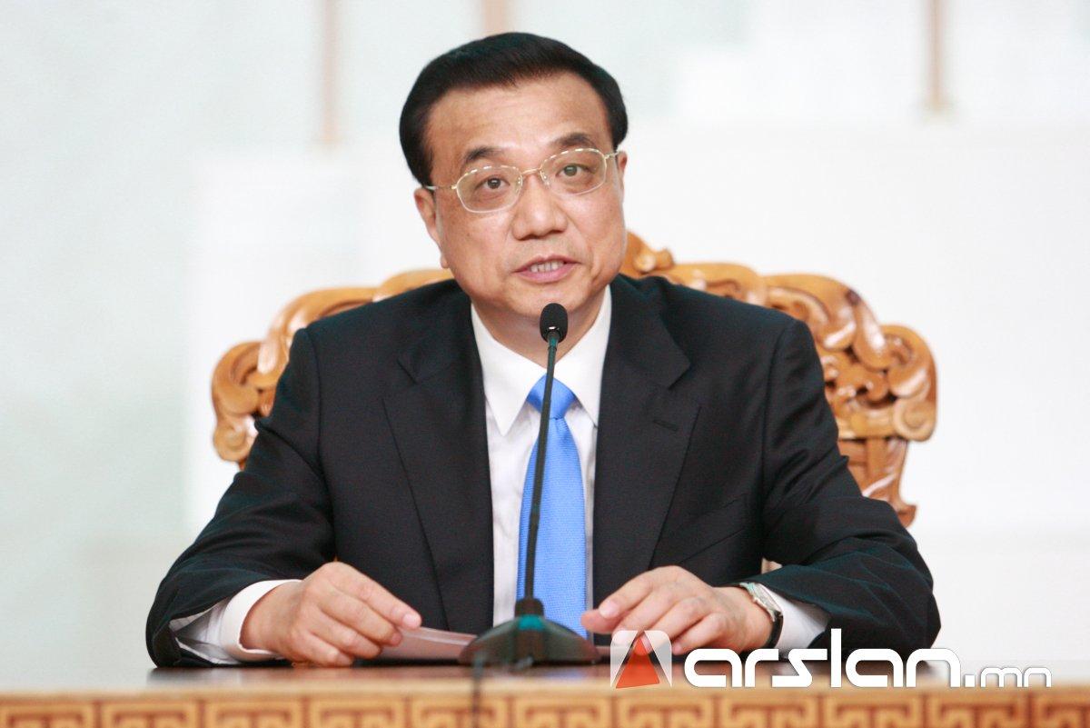 Ли Көцян: Манай улсын ДНБ 13.6 их наяд ам.долларт хүрсэн нь дэлхийн эдийн засгийн 16 хувийг бүрдүүлж байна