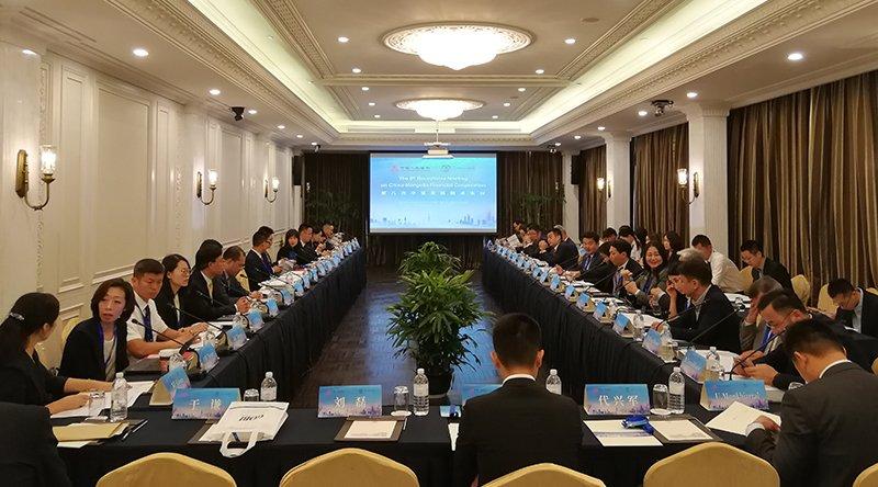 Хятад-Монголын дугуй ширээний уулзалтыг Шанхай хотноо зохион байгууллаа