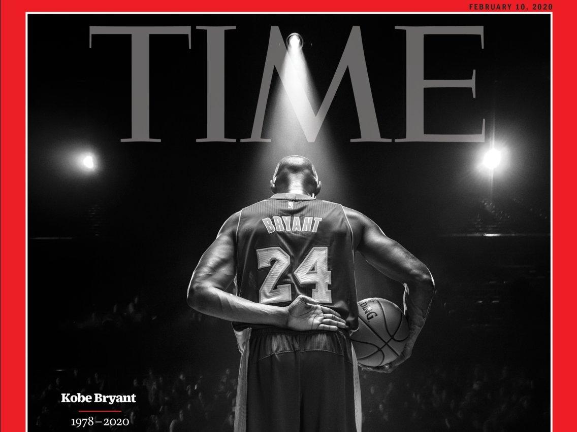 """""""Time"""" сэтгүүл шинэ дугаартаа домогт тоглогч Коби Брайантыг мөнхөлжээ"""