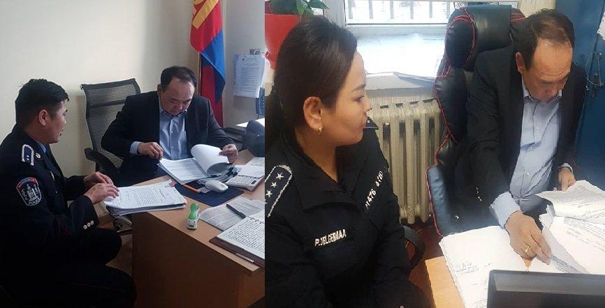 Сүхбаатар дүүрэг дэх Цагдаагийн газрын  удирдлагууд ХОРООДОД  ажиллаж эхэллээ