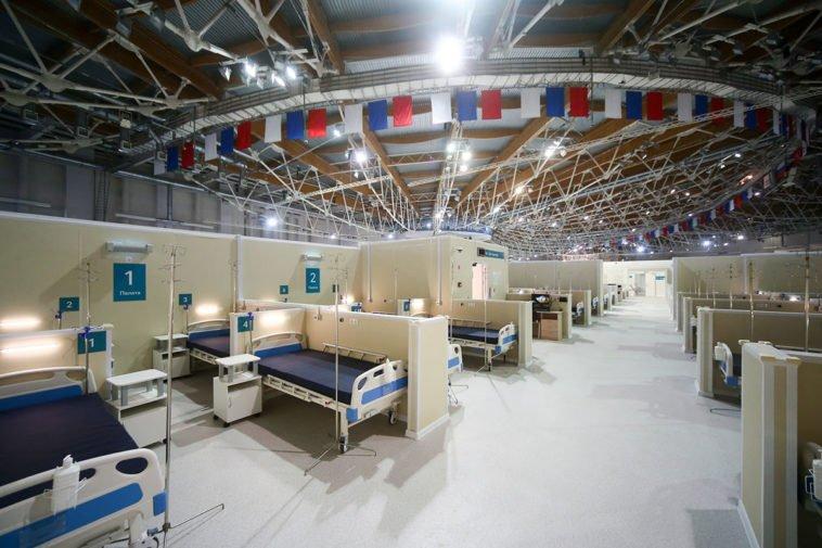 ОХУ: Москва хот мөсөн гулгуурын талбайгаа  Covid-19 өвчтөнүүдийг эмчлэх ЭМНЭЛЭГ болгожээ
