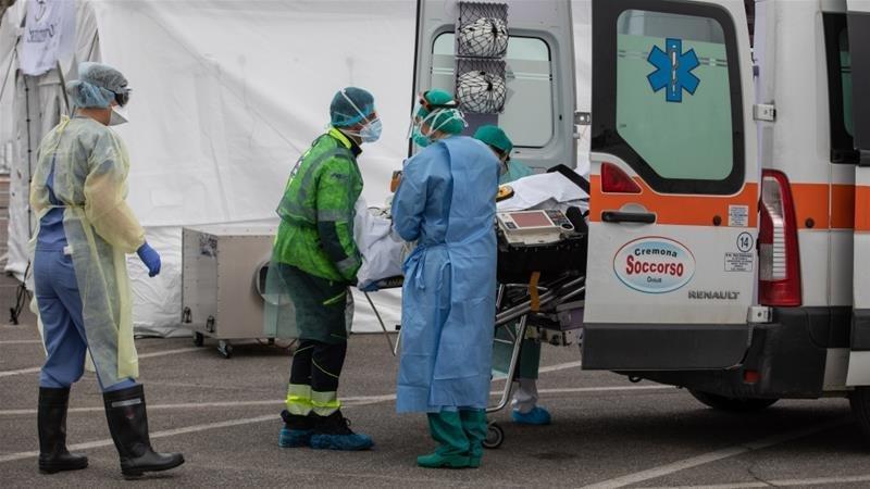 COVID-19: Италид сүүлийн 24 цагийн хугацаанд халдварын 4050  шинэ тохиолдол, 812 нас баралт бүртгэгдлээ