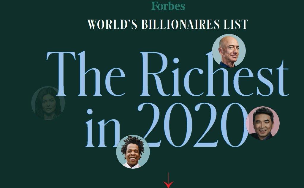 FORBES: Дэлхийн хамгийн баян ЭРХМҮҮД