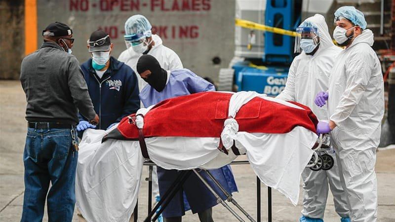COVID-19: АНУ-д нэг өдрийн дотор 1200 гаруй хүн нас баржээ