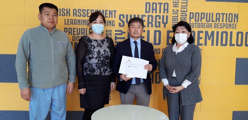 """""""Монгол глобал"""" компани  ХӨСҮТ-ийн хамт олонд эдийн засгийн дэмжлэг туслалцаа үзүүллээ"""
