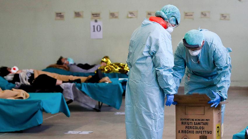 COVID-19: Итали улсад нэг өдрийн дотор хамгийн олон хүн буюу 475 хүн нас барлаа