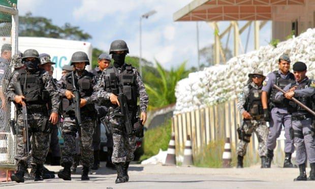 Бразилын Монгагуа хотын шоронгоос 400 орчим хоригдол ОРГОЖЭЭ
