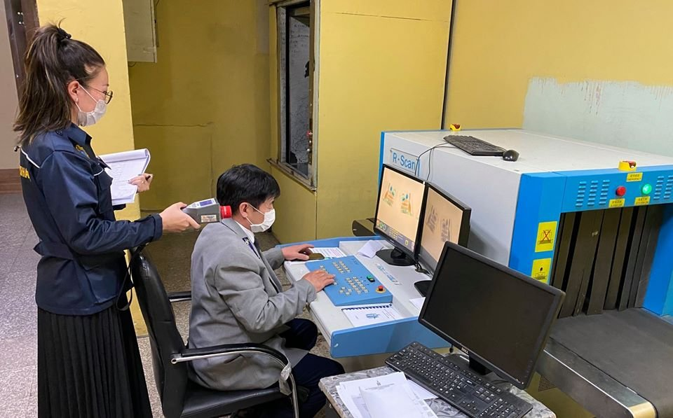 Улс хоорондын шуудан илгээмжийн гаалийн газарт  цацрагийн хяналтын ЗӨВЛӨН ТУСЛАХ үйлчилгээ үзүүллээ