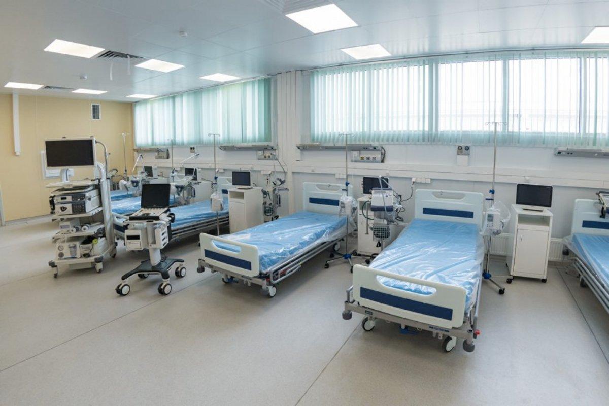 Москва хотод сарын дотор  Covid-19 өвчтэй хүмүүсийг эмчлэх эмнэлэг барьжээ
