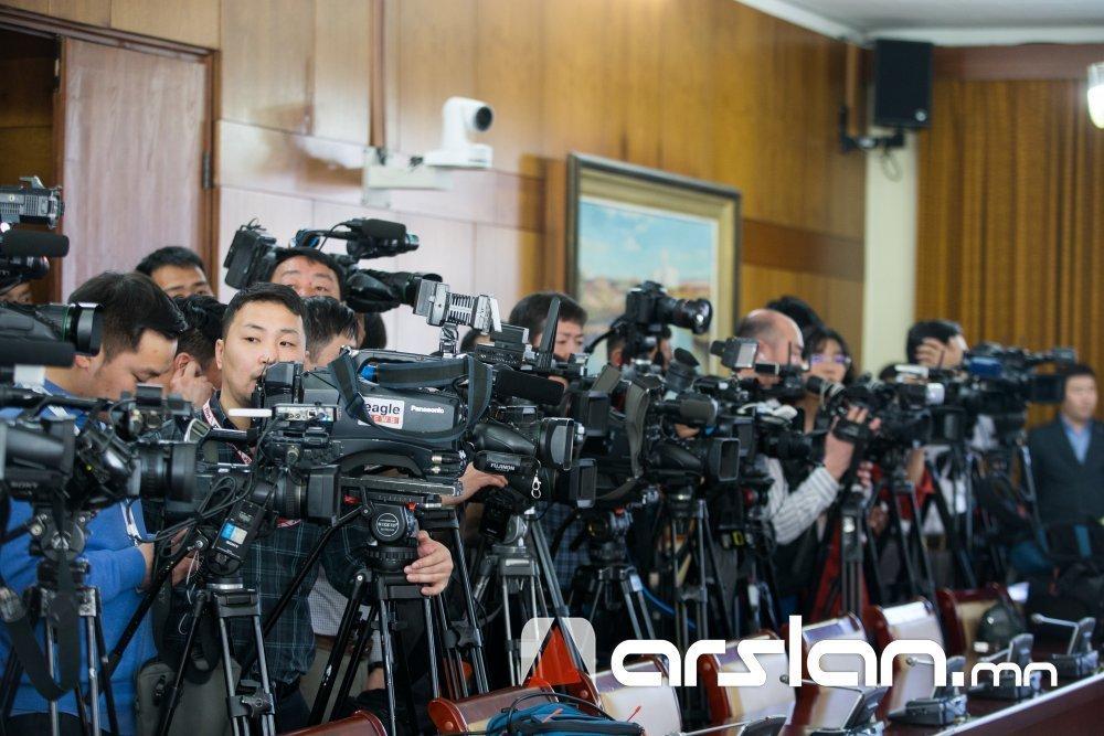 ҮЙЛ ЯВДАЛ: Монгол Улсын хэвлэлийн эрх чөлөөний нөхцөл байдлыг танилцуулна
