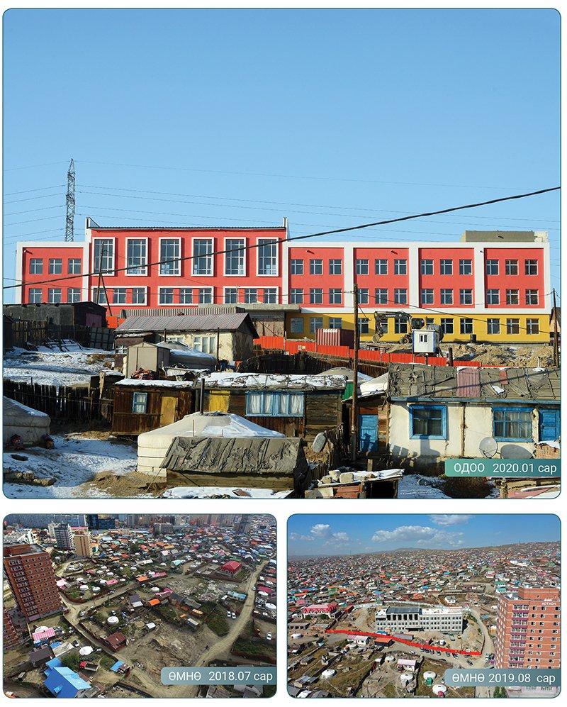 Баянгол дүүрэгт 640 суудалтай сургууль, 240 ортой цэцэрлэгийн барилга ашиглалтад орно