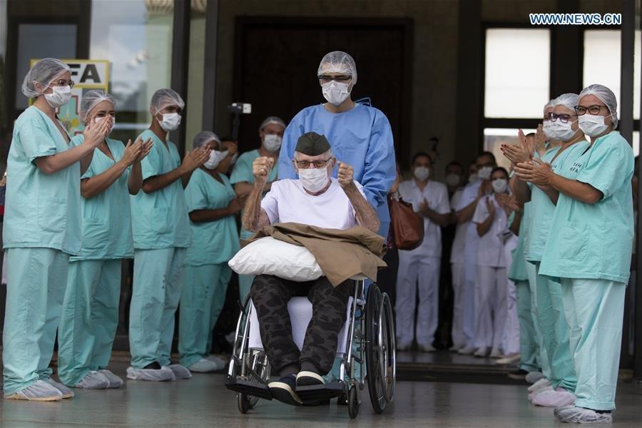 COVID-19: Бразилийн 99 настай өвчтөн эдгэрчээ
