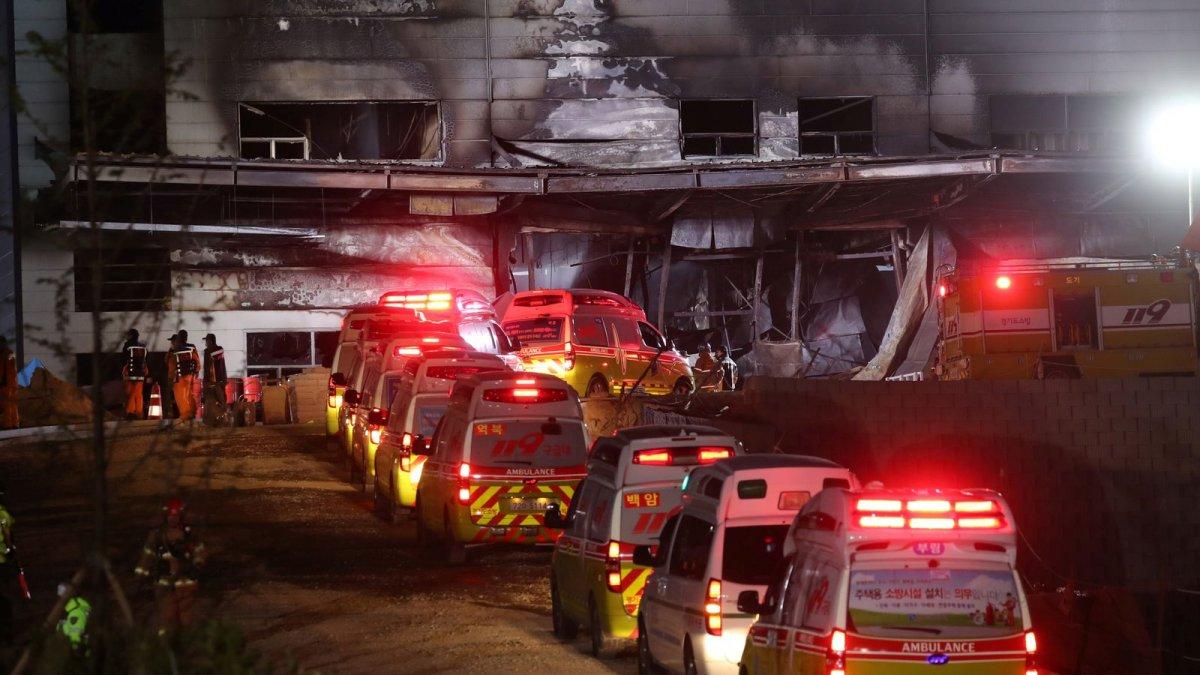 БНСУ-д агуулахад түймэр гарсны улмаас олон хүн амиа алджээ
