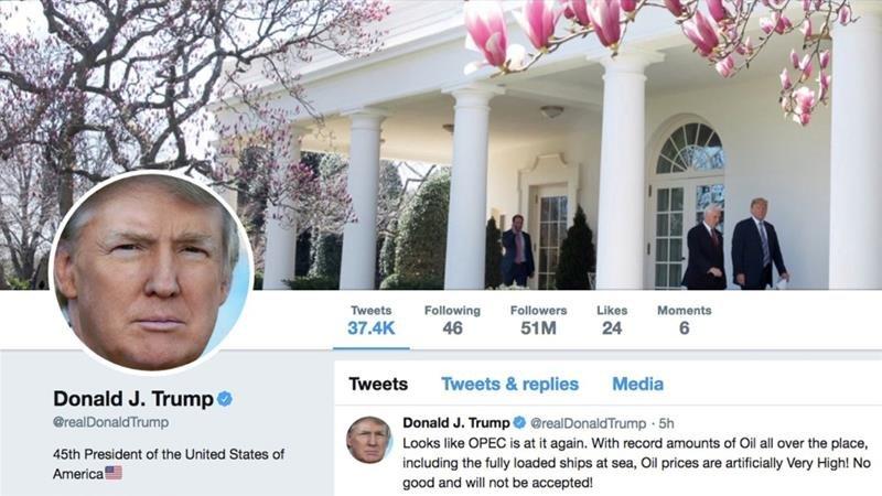 """""""Twitter"""" Дональд Трампын жиргээнд хяналт тавьж эхлэв"""