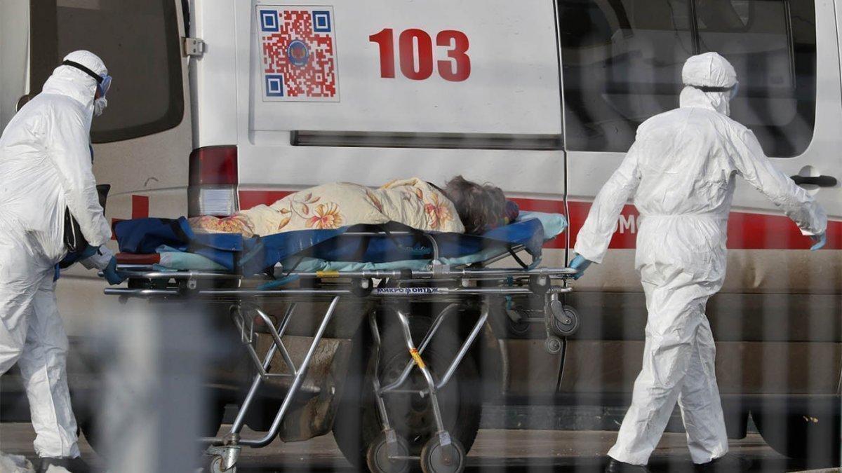 COVID-19: Сүүлийн 24 цагт ОХУ-д халдварын  8,599 шинэ тохиолдол илэрчээ