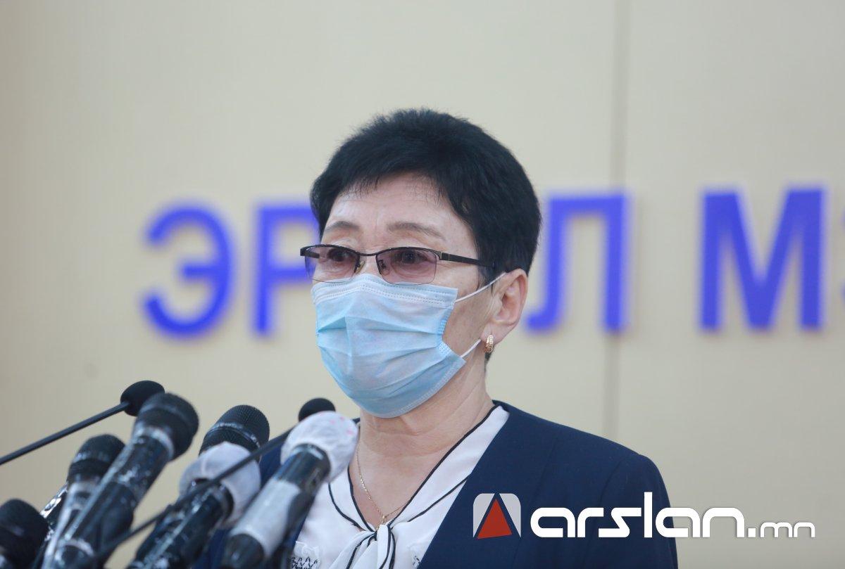 А.Амбасэлмаа: 374 хүний шинжилгээний хариу СӨРӨГ буюу коронавирусын халдваргүй гарлаа