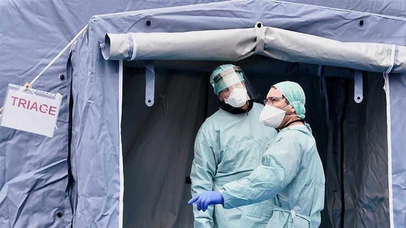 COVID-19: Франц, Итали, Испанид халдварын улмаас өдөрт нас барсан хүний тоо буурлаа