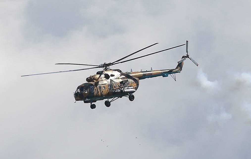 """ОХУ-д """"Ми-8"""" цэргийн нисдэг тэрэг осолдож, дөрвөн хүн амиа алджээ"""