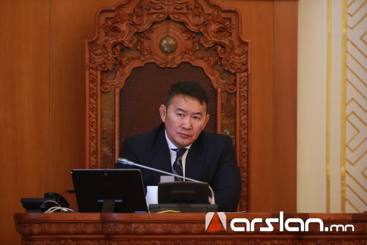 Ерөнхийлөгч найм дахь парламентын анхдугаар чуулганы ТОВЫГ  зарлалаа