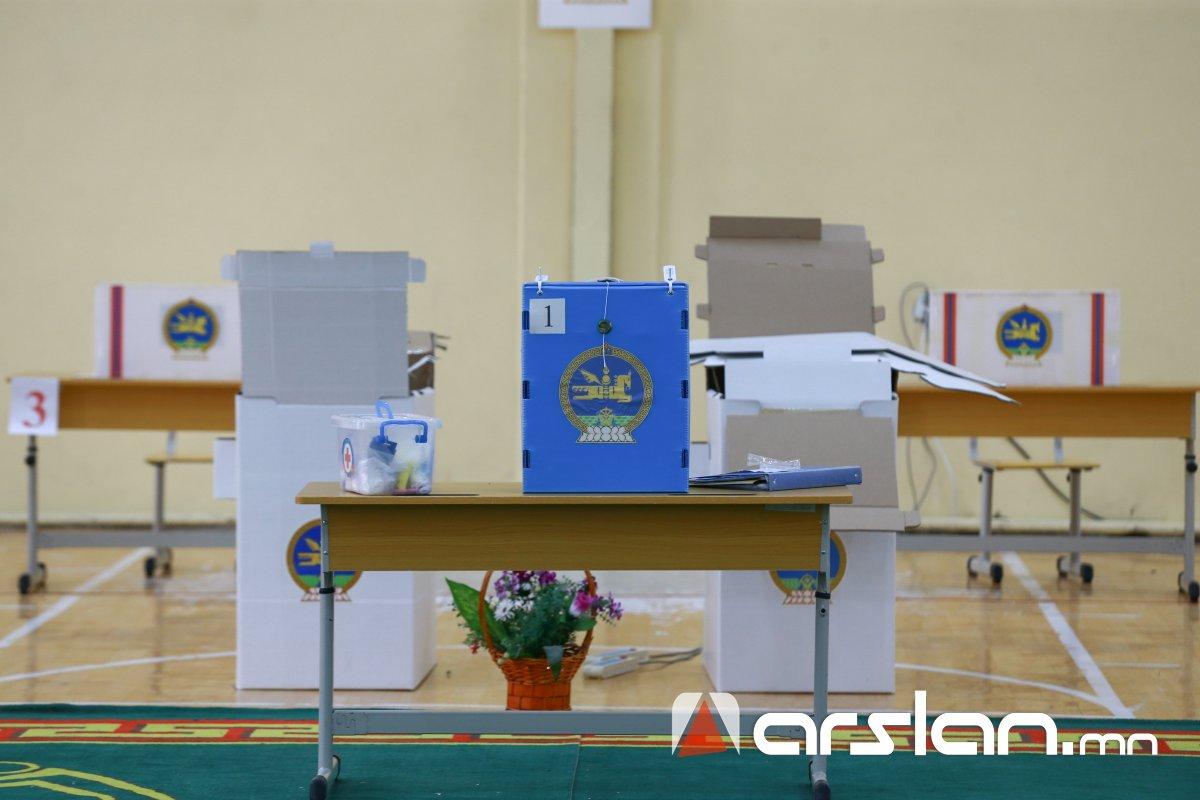 Булган аймгийн сонгогчдын 25,21 хувь саналаа өгчээ
