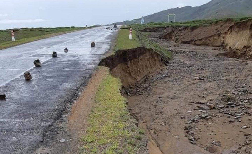 Дархан-Сүхбаатар чиглэлийн замд болгоомжтой зорчихыг зөвлөж байна