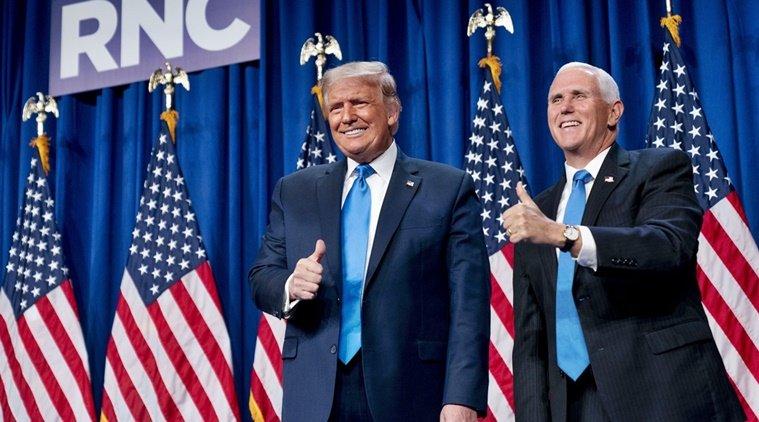 Д.Трампыг АНУ-ын ЕРӨНХИЙЛӨГЧИЙН СОНГУУЛЬД албан ёсоор нэр дэвшүүллээ