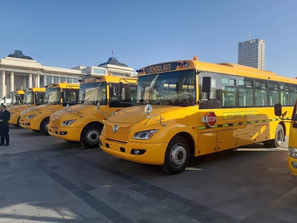 Хүүхдүүдэд зориулсан тусгай үйлчилгээний 200 автобусны эхний ээлж орж иржээ
