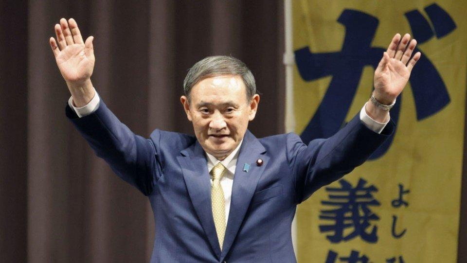 Японы шинэ Ерөнхий сайд Сүга Ёшихидэ гэж ХЭН БЭ