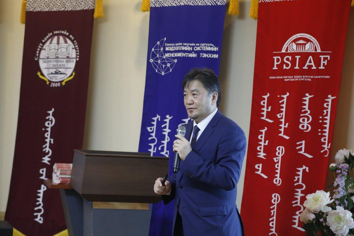 """""""Дэлхийн хуримтлалын өдөр 2020"""" аяны хүрээнд Монголбанкны Ерөнхийлөгч ЛЕКЦ  уншлаа"""