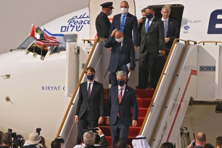АНЭУ, Израиль хоорондын хэлэлцээрт Цагаан ордонд гарын үсэг зурах уу