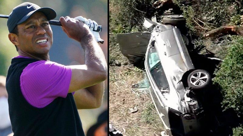 Дэлхийн алдарт гольфчин Тайгер Вүүдс автын осолд оржээ