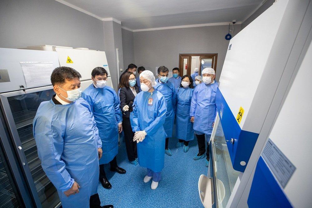 ЭМЯ-наас Үндэсний хэмжээний Молекул биологийн лабораторийг УНТЭ-ийг түшиглэн байгууллаа