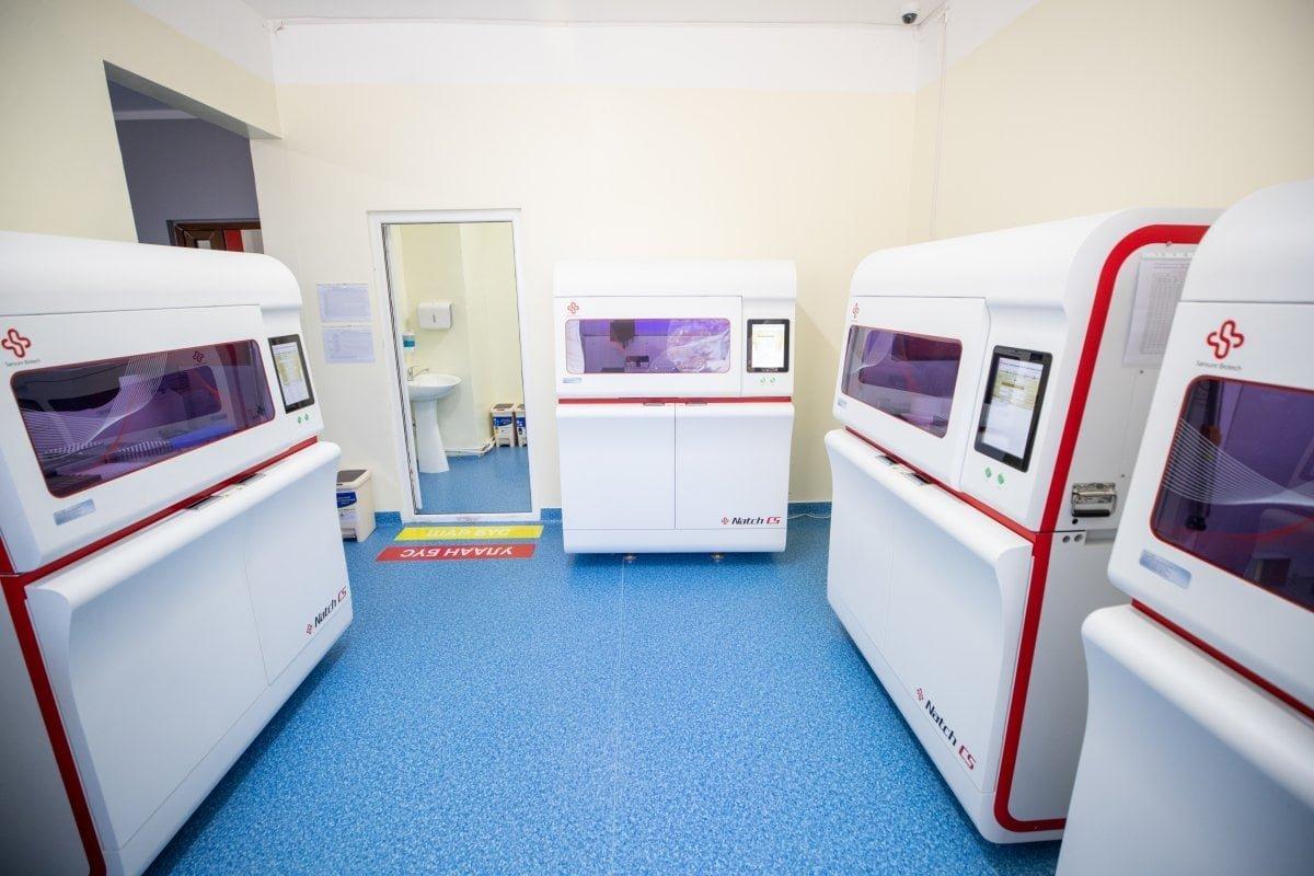 Увс аймгийн Нэгдсэн эмнэлэг PCR шинжилгээний тоног төхөөрөмжтэй боллоо