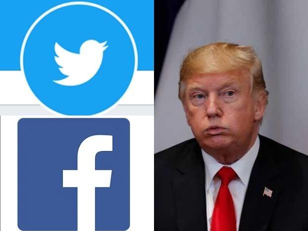 Дональд Трампын Twitter, Facebook-ийг түр блокложээ