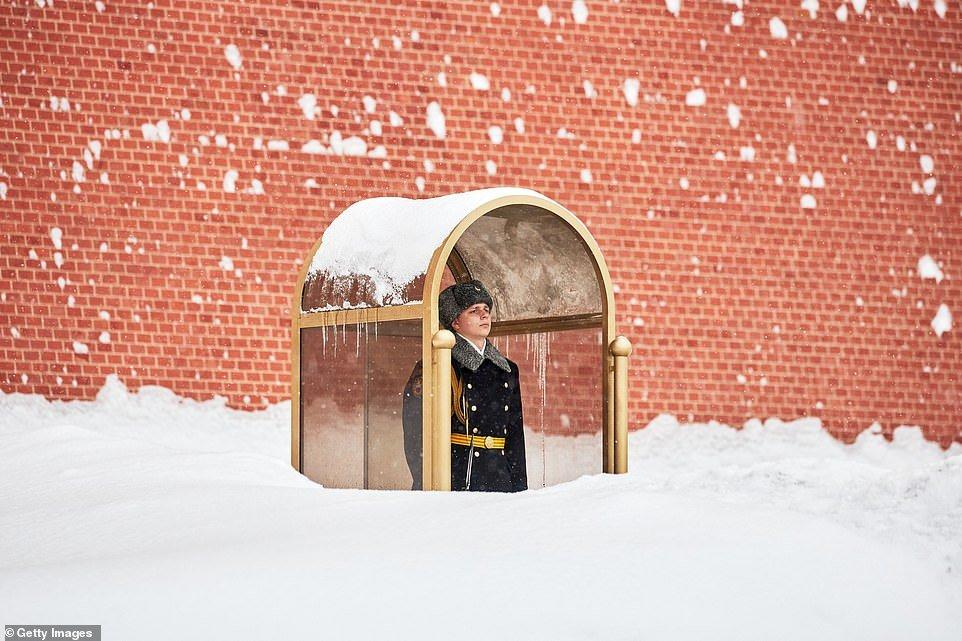 ФОТО: Москвад сүүлийн 50 жил ороогүй ИХ ЦАС оржээ