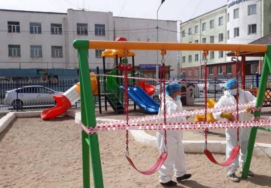 Бөөгнөрөл үүсэхээс сэргийлж хүүхдийн тоглоомын талбайг битүүмжилж эхэллээ