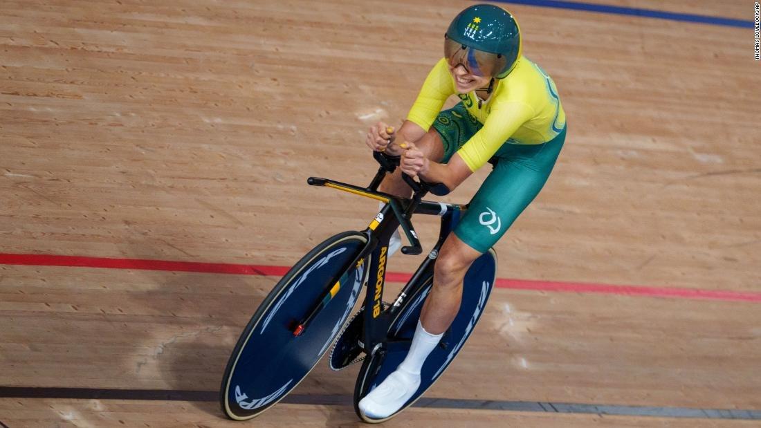 ТОКИО 2020: Паралимпын анхны алтан медалийг Австралийн тамирчин хүртлээ