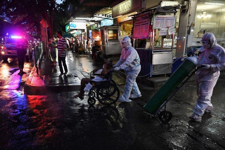Тайландад өдөрт АРВАН МЯНГА давсан халдварын тохиолдол бүртгэгдэж байна