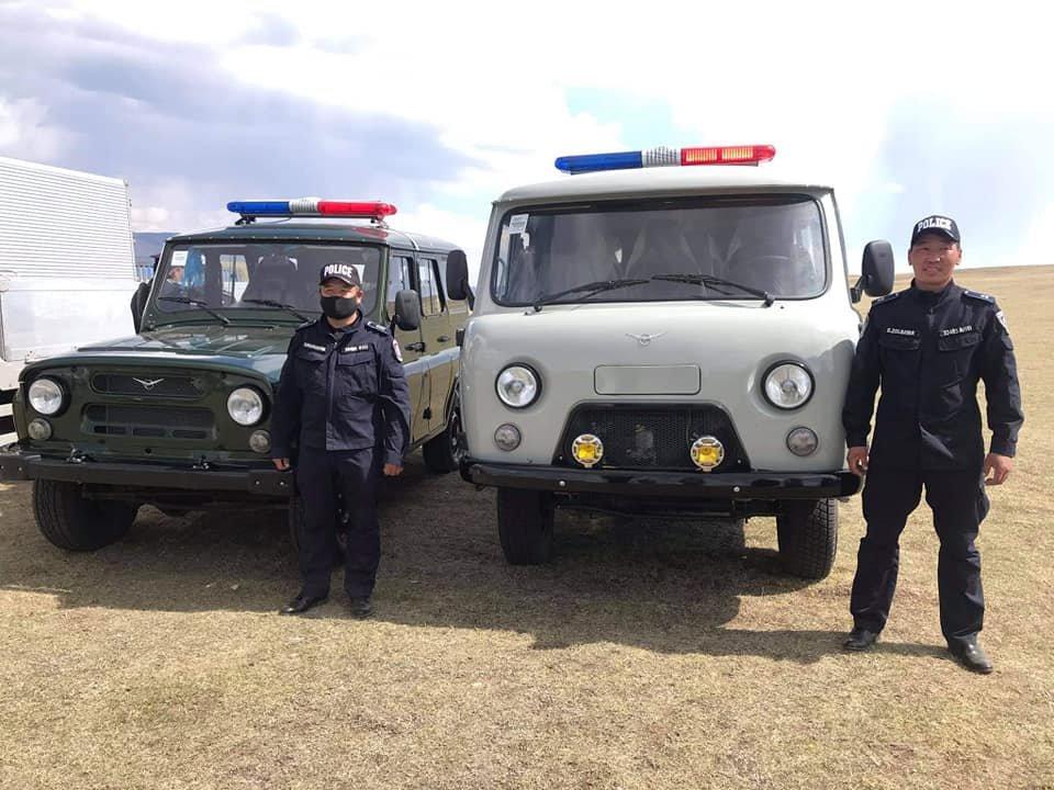 Булган аймгийн Цагдаагийн газарт автомашины ПАРК ШИНЭЧЛЭЛТ хийгдлээ