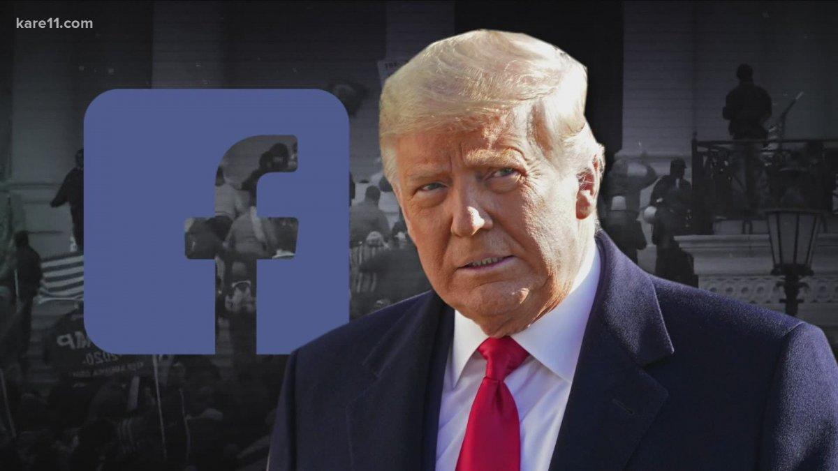 """""""Facebook"""" Д.Трампын хаягийг хаах шийдвэрийг хэвээр нь үлдээжээ"""