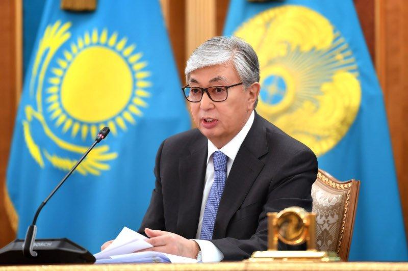 Казахстаны Ерөнхийлөгч К.Токаев У.Хүрэлсүхэд баяр хүргэжээ