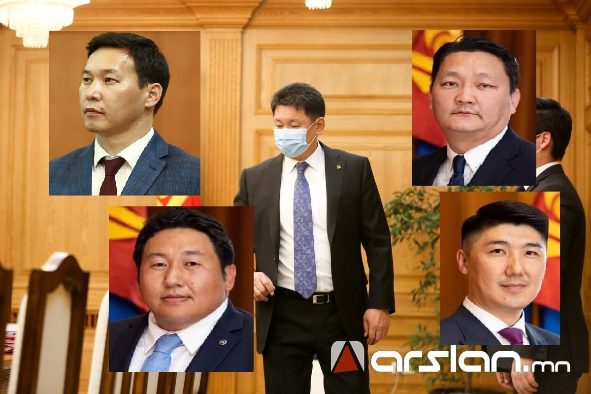 ТАНИЛЦ: Ерөнхийлөгч У.Хүрэлсүхийн зөвлөхүүд