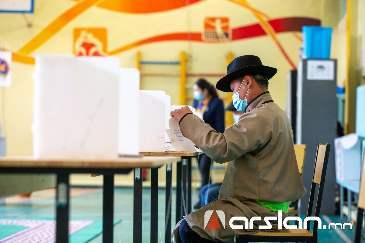 15.00 цаг: Улсын хэмжээнд сонгогчдын 30.8 хувь нь саналаа өгөөд байна