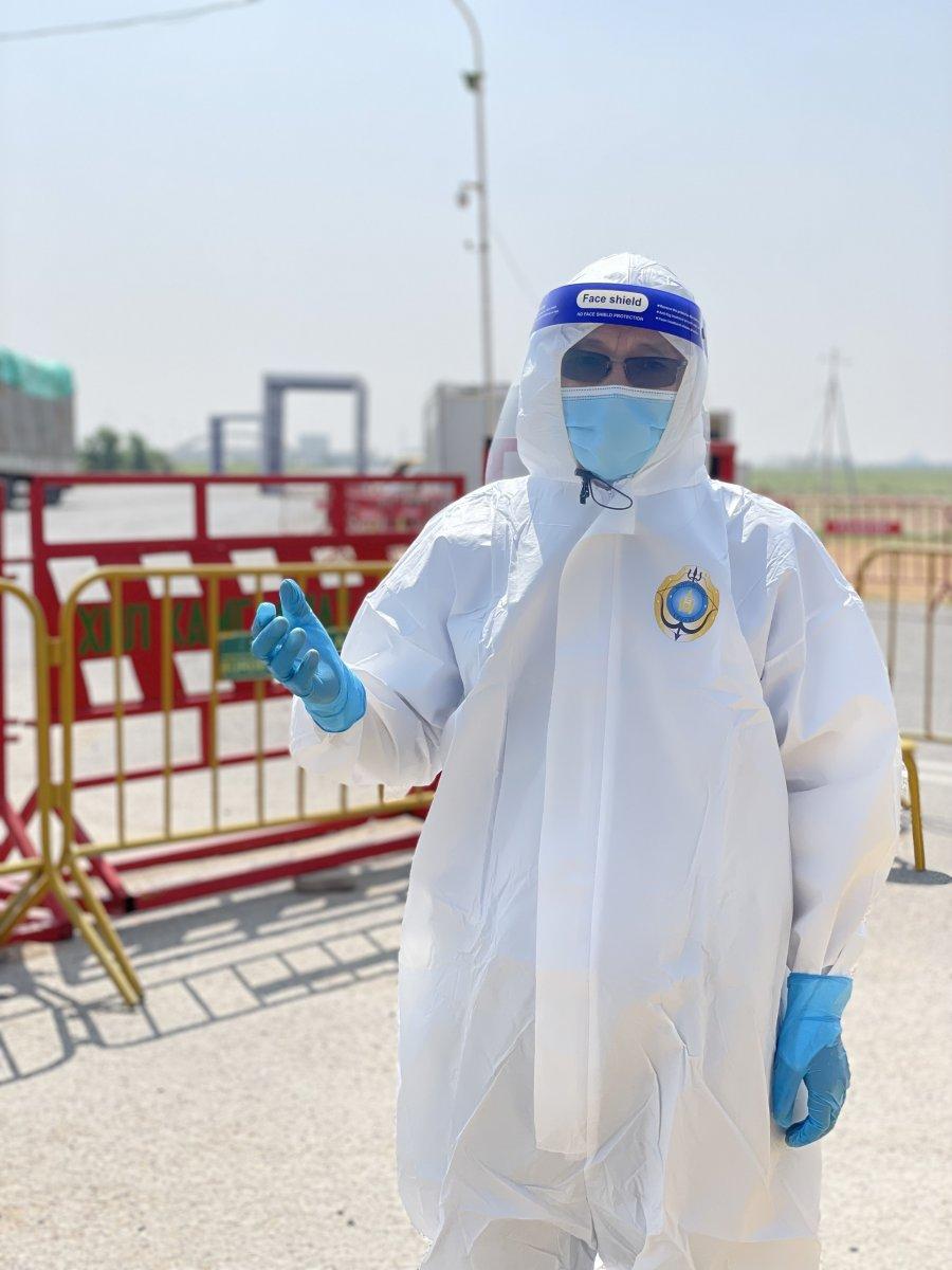Ө.ЦОГГЭРЭЛ : Замын-Үүд боомт халдвар, хамгааллын зохион байгуулалтыг САЙЖРУУЛСАН