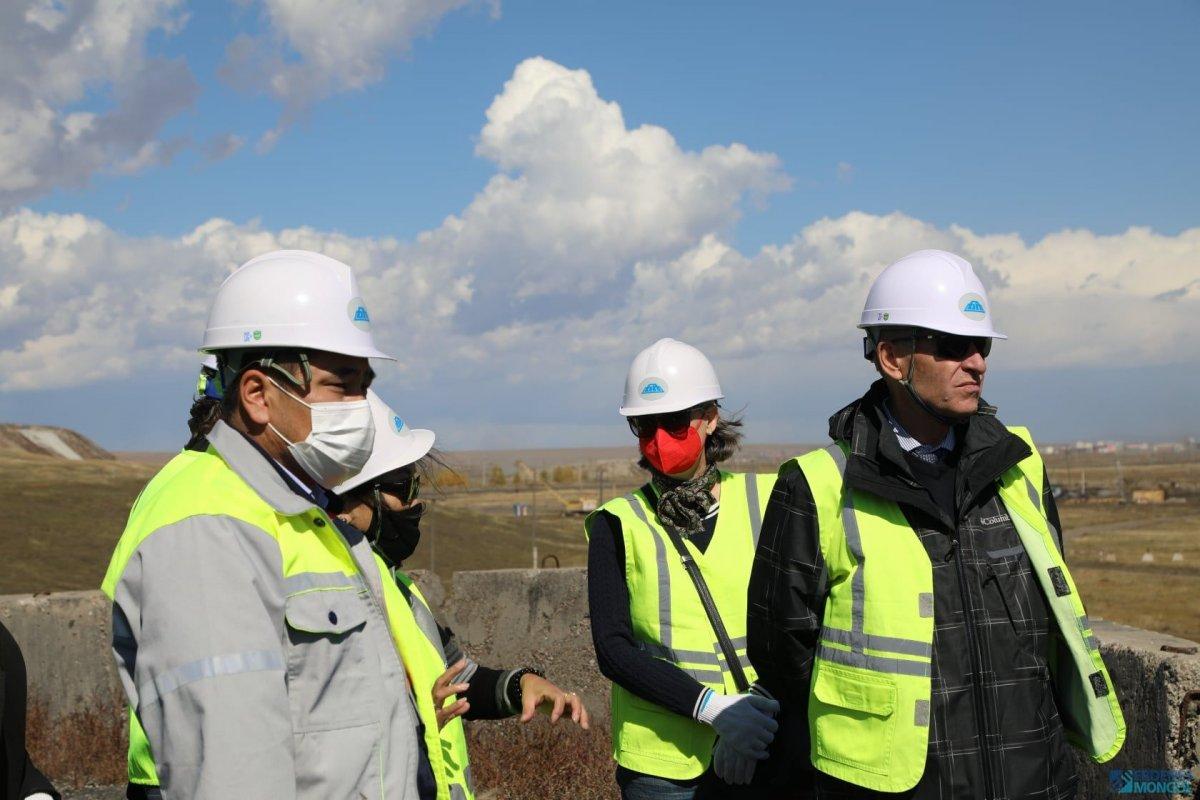 ХБНГУ-аас монгол улсад суугаа элчин сайд Ёорн Розенберг БАГАНУУР ХК-д зочиллоо