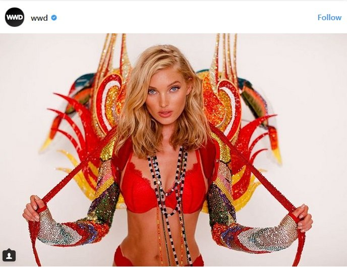 """""""Victoria's Secret""""-ийн Эльза Хоскын шоуд өмссөн дотуур хувцсанд  275,000 Swarovski оржээ Arslan.mn"""