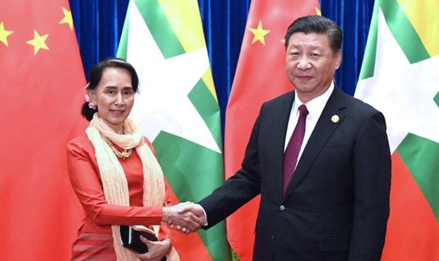 Ши Жиньпин, Ан Сан Су Чи нар хоёр талын харилцаагаа бэхжүүлэхээр тохиролцжээ